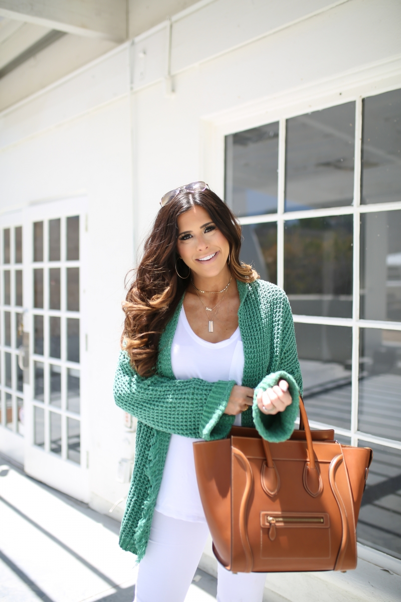 emily gemma, the sweetest thing, tan celine mini luggage, free people cardigan, best white v neck tee nordstrom, pinterest summer outfit ideas 2017, pinterest fall outfit ideas 2017, pinterest cardigan outfit idea, white jeans outfit ideas pinterest, layered gold necklaces, jbrand white jeans, cute all white outfit ideas, tulsa fashion blogger