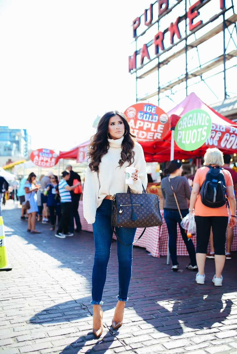 fall fashion 2017, fall fashion outfits 2017 pinterest, cute fall fashion outfits oversized sweaters and heels, louboutin so kate 120 brown outfits, louis vuitton poppincourt MM outfit idea pinterest, gucci sunglasses squares, tumblr fall fashion 2017 ,louis vuitton reversible belt, free people swim too deep turtleneck sweater review, DL1961 Instasculpt jeans review, Louis Vuitton Poppincourt MM bag