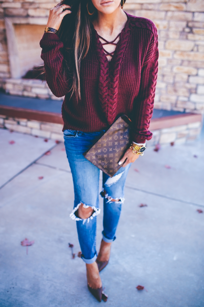 Styling Boyfriend Jeans During This Fall The Sweetest Thing