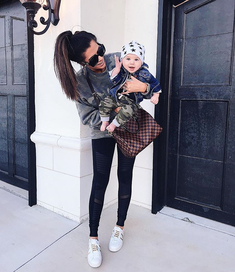 mommy baby travel outfit, cute mommy baby boy photos pinterest, louis vuitton speedy 30,