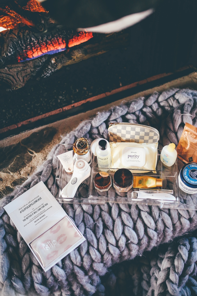 NIGHT TIME SKIN CARE ROUTINE featured by top US beauty blog, The Sweetest Thing.