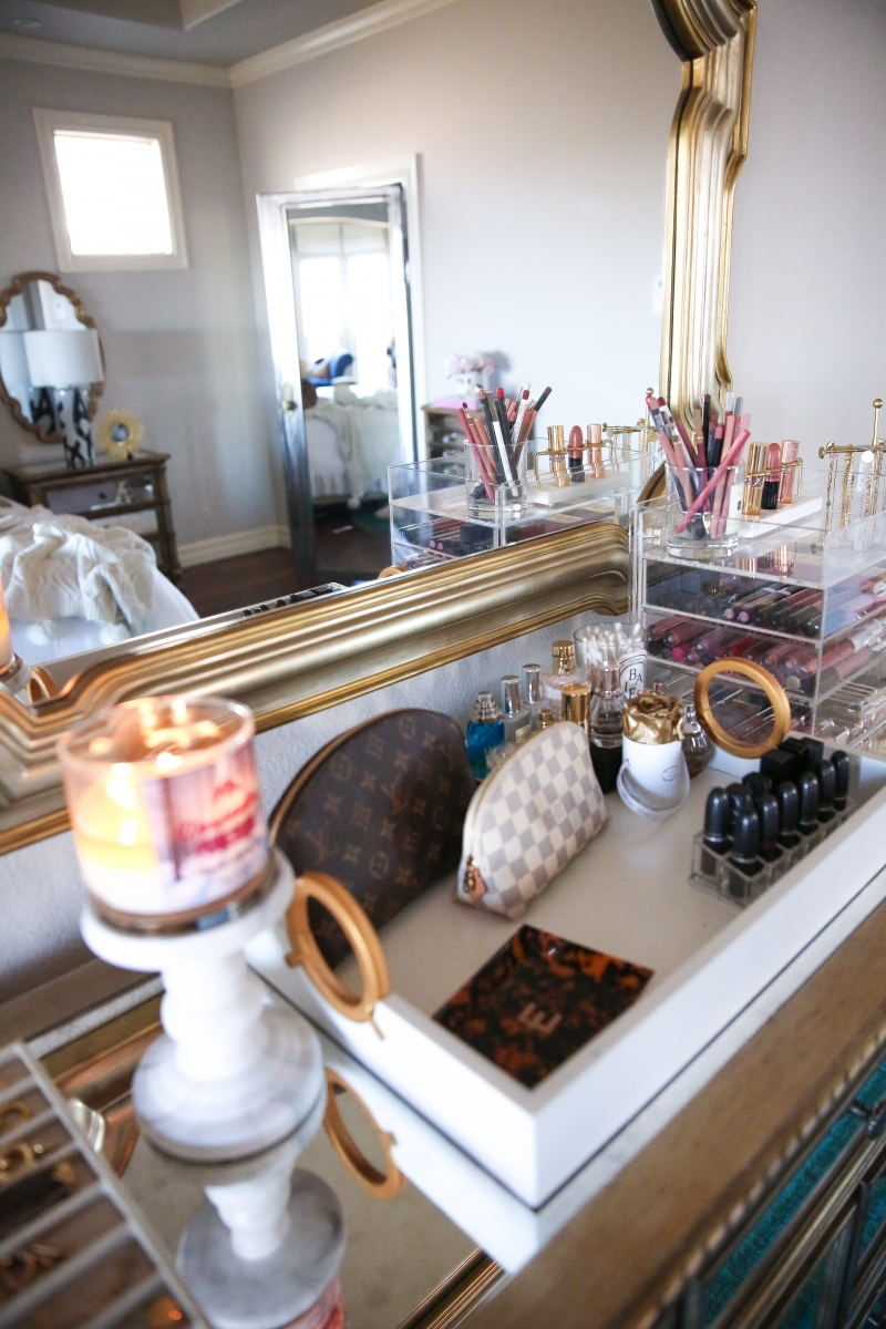 Makeup And Jewelry Organizer For Your Master Bedroom The Sweetest Thing