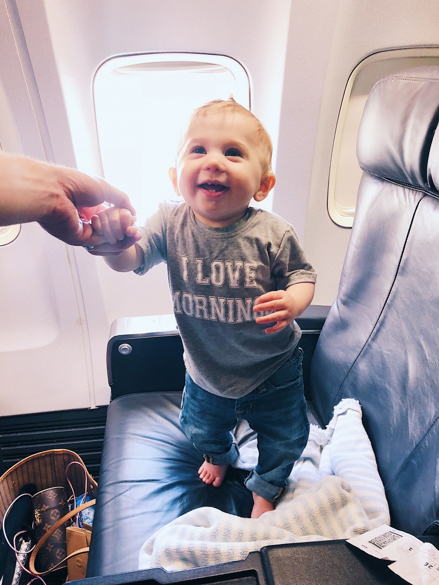 baby travel outfit 2018 pinterest Louis Vuitton neverfull mm emily ann gemma the sweetest thing blog