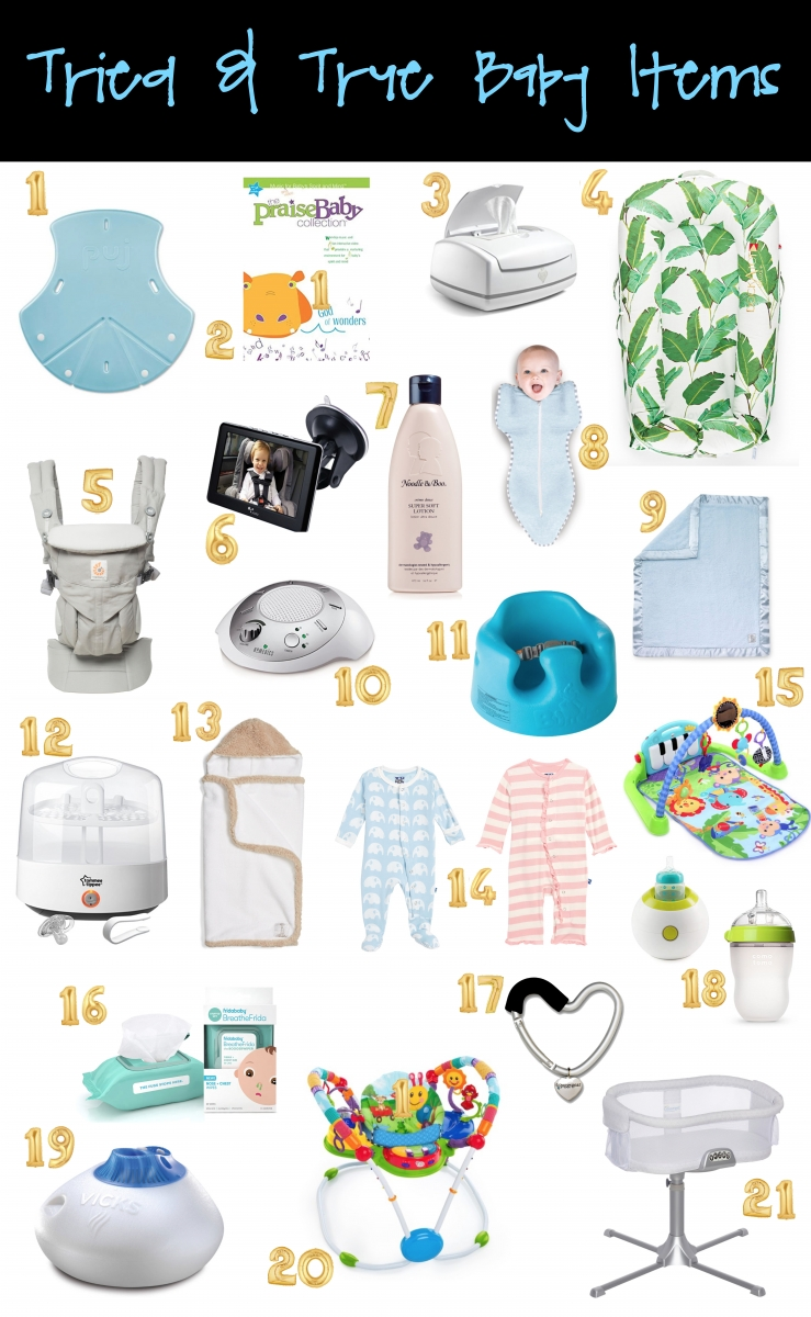 The Must-Haves Of Baby's First Year | The Sweetest Thing