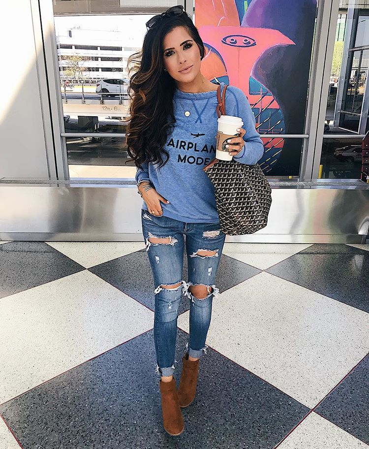 cute airport outfit idea pinterest fall 2018, airport-travel-outfit-pinterest-cute-airport-travel-outfits-fall-fashion-2017-emilyanngemma