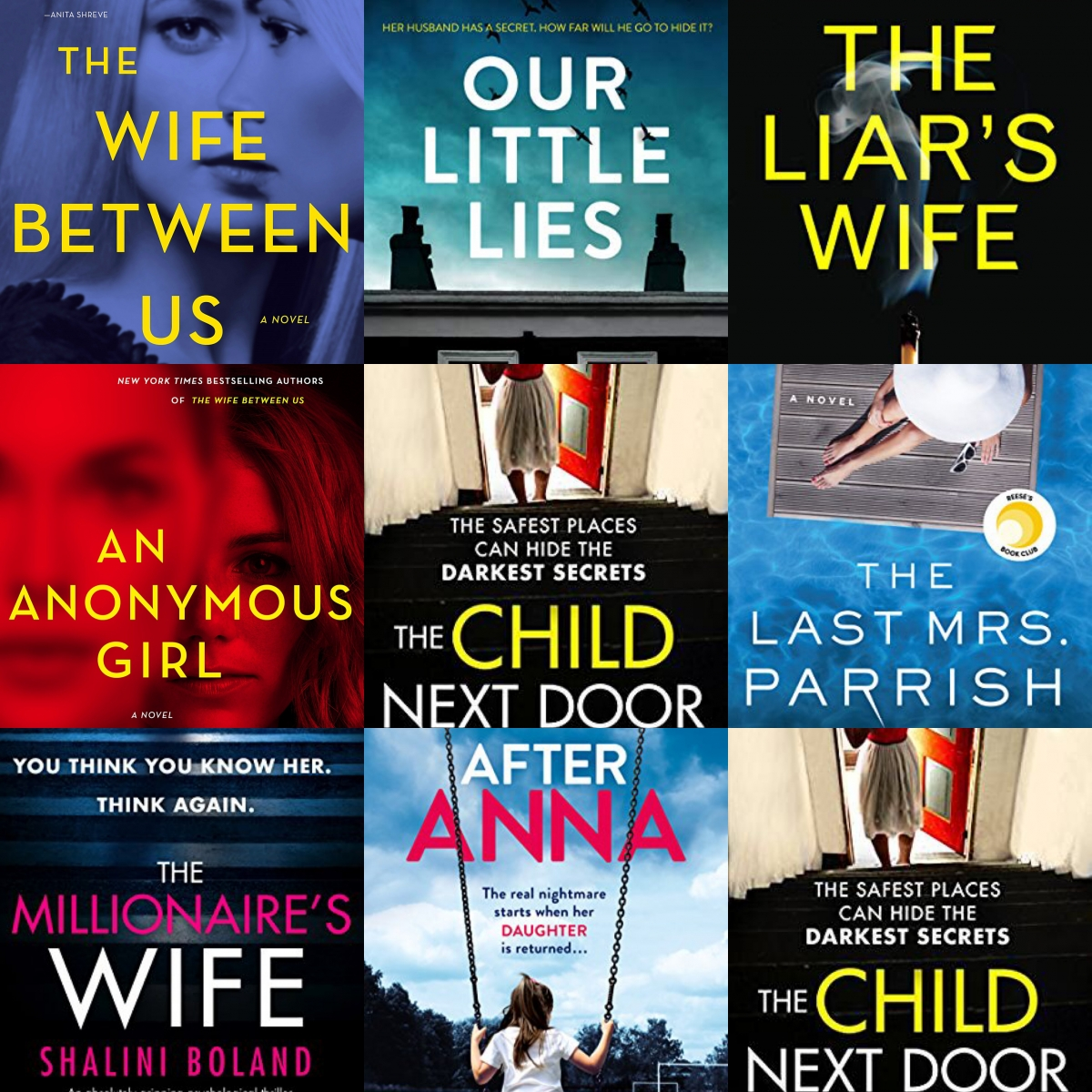 the best psychological thrillers 2019, Emily gemma book review, books similar to gone girl, books similar to behind closed doors, books similar to the woman in cabin 10, the wife between us, the last mrs Parrish book review