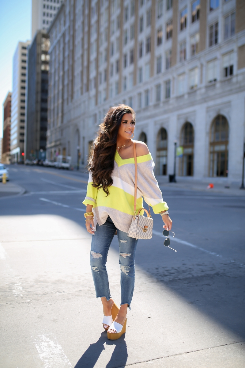 quay silver high key aviator, express jeans raw hem distressed, tulsa fashion blogger, spring fashion pinterest 2019, express spring 2019, emily gemma, louis vuitton croisette damier azur, cute pregnancy outfits 2019, the sweetest thing blog