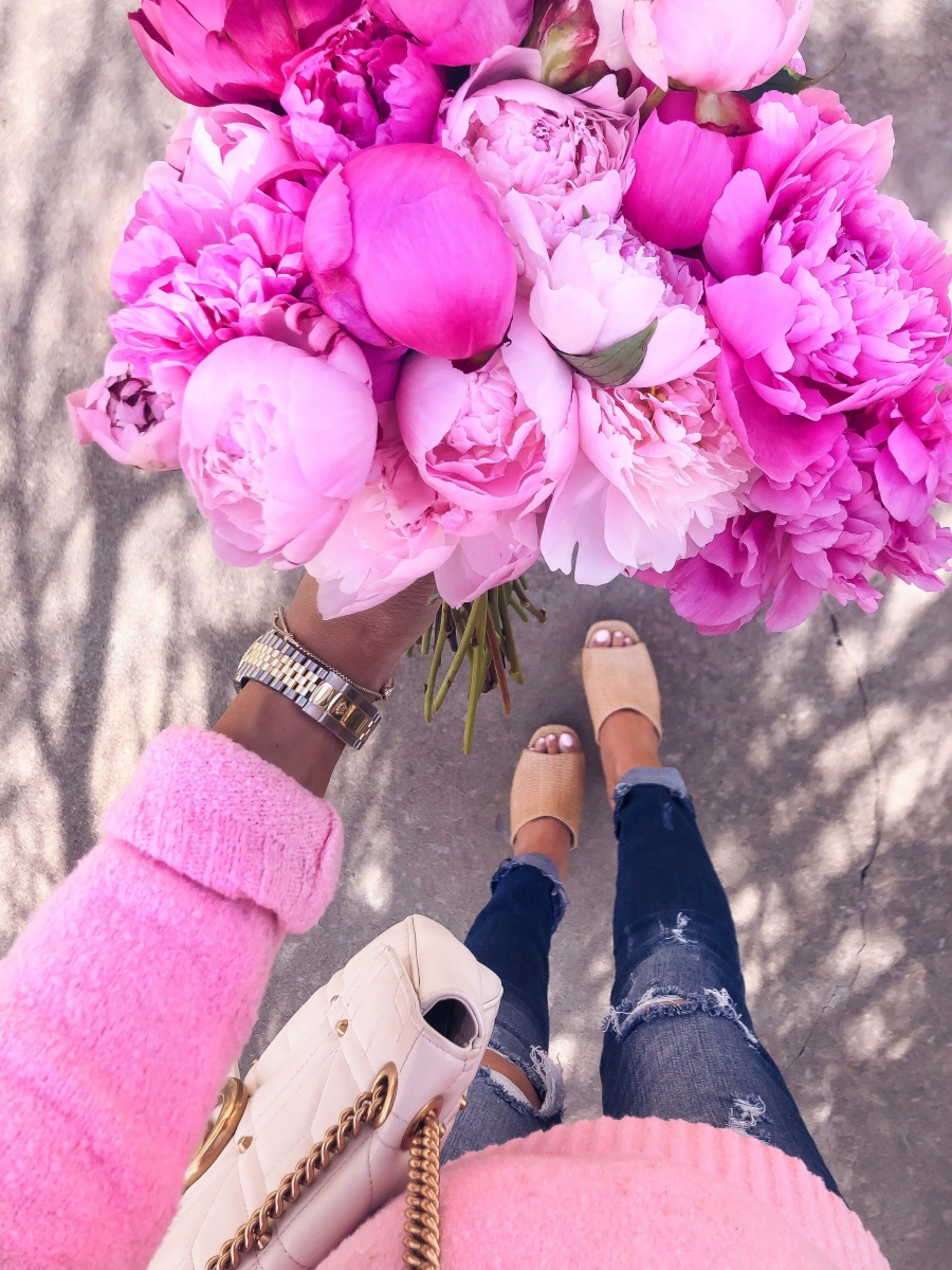 Emily ann gemma instagram, cute spring fashion outfits pinterest 2019, pink peonies pinterest