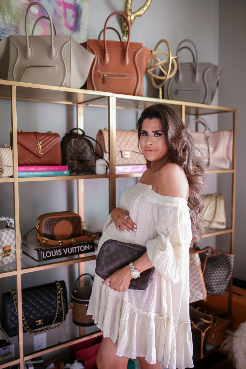 Last Look At My Office Space Designer Handbag Collection Before Moving Louis Vuitton Ebay Find The Sweetest Thing