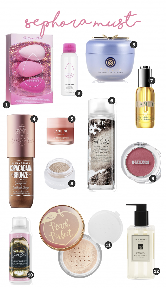 Sephora Must Haves VIB Event Spring 2019, Emily Ann Gemma of The Sweetest Thing Blog.