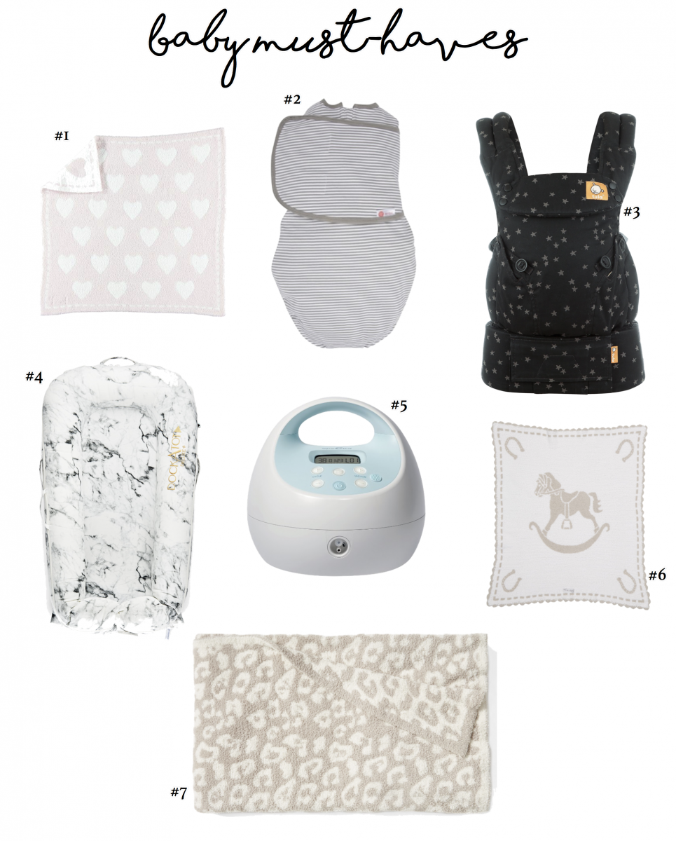 EMily Ann Gemma of The Sweetest Thing Blog giving her top 7 baby must have products