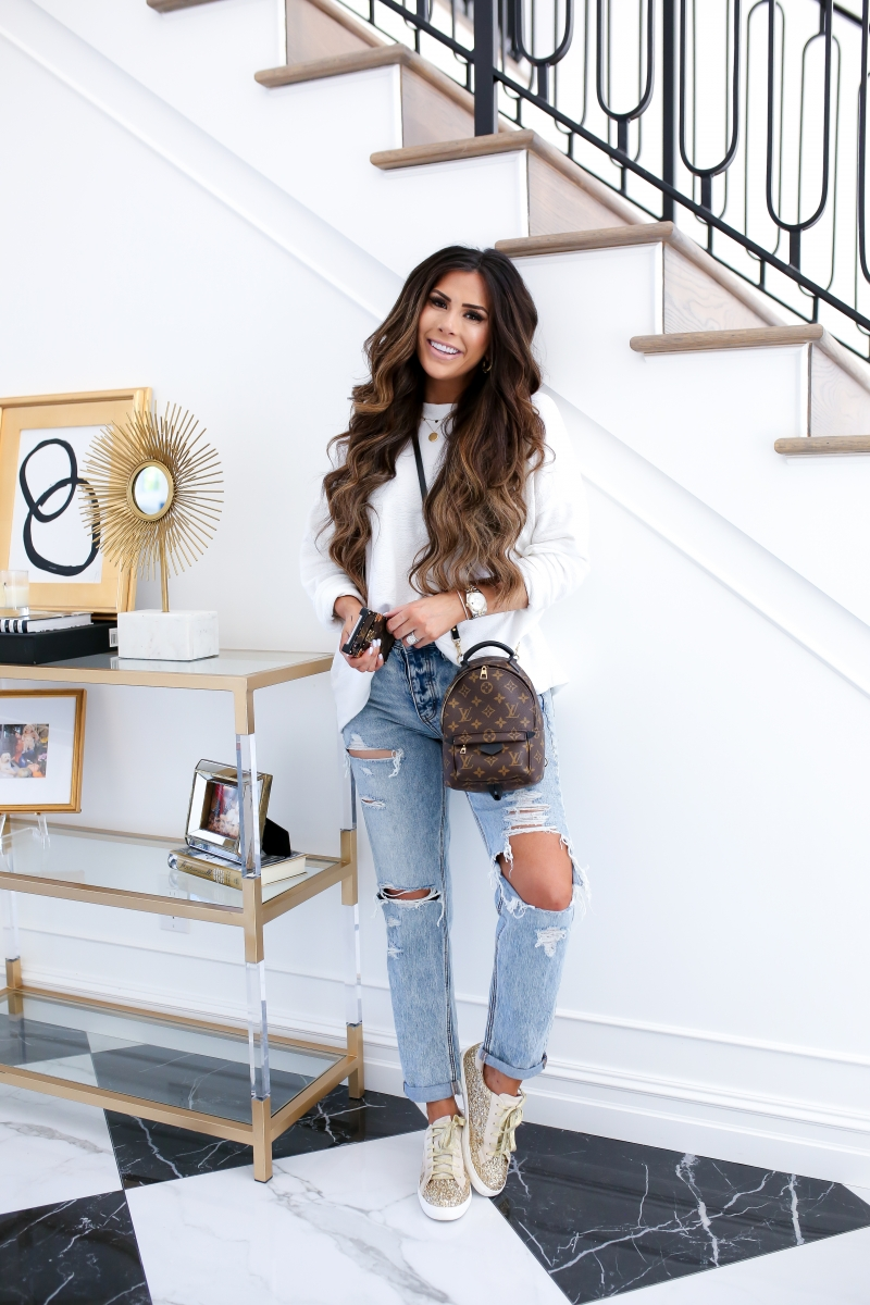 Emily Ann Gemma of The Sweetest Thing Blog shares What's In My Louis Vuitton Backpack [Special Beauty Edition?]
