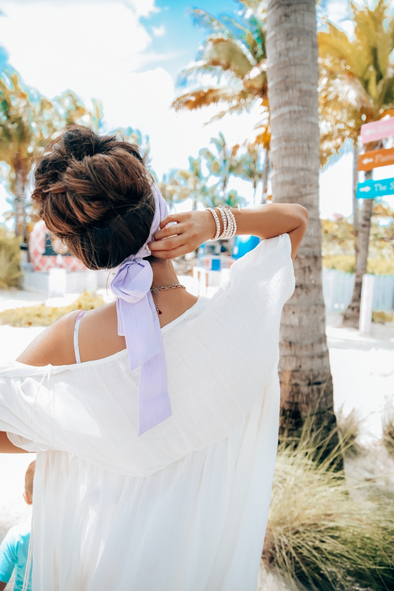 Emily Ann Gemma of The Sweetest Thing Blog shared her favorite postpartum, high-waisted swimsuit for spring and summer.