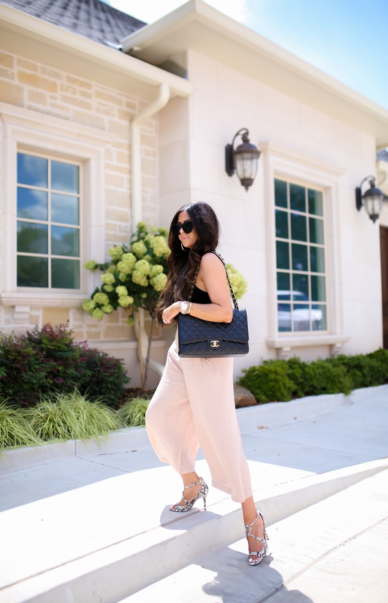 Styling Culottes fall 2019, Pinterest fall fashion culottes, emily gemma, the sweetest thing blog, Meghan Markle sunglasses le spec, Fall fashion trends 2019-2