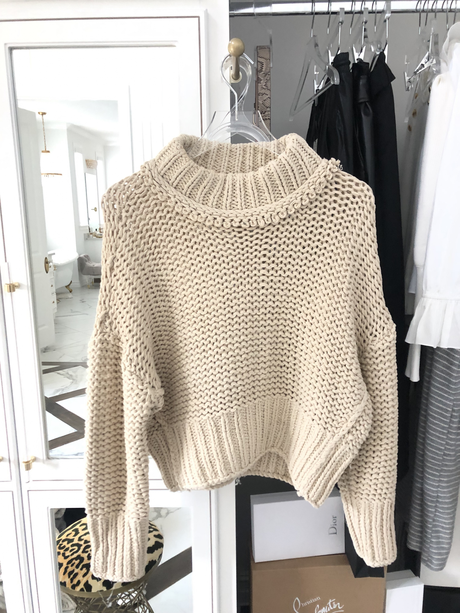 Shopbop sale fall 2019, fall fashion 2019 pinterest outfits,emily gemma | Major ShopBop Sale Alert‼️[25% Off My Most Popular Outfits!] by popular Oklahoma fashion blog, The Sweetest Thing: image of a woman wearing ShopBop knitted sweater.