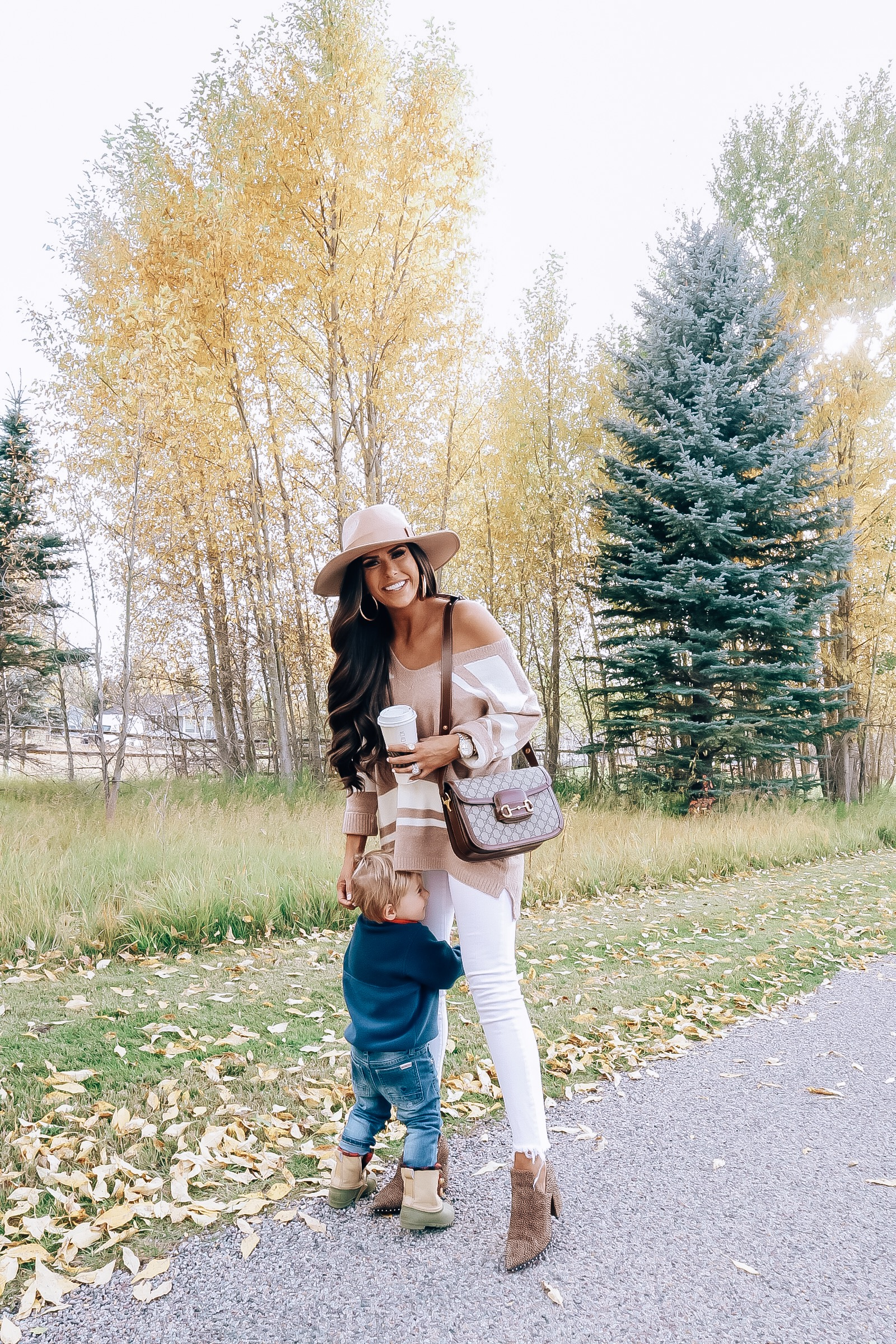 The Best Things to Do in Jackson Hole in the Fall featured by top US travel blog, The Sweetest Thing | emily gemma, fall fashion outfit 2019, red dress boutique