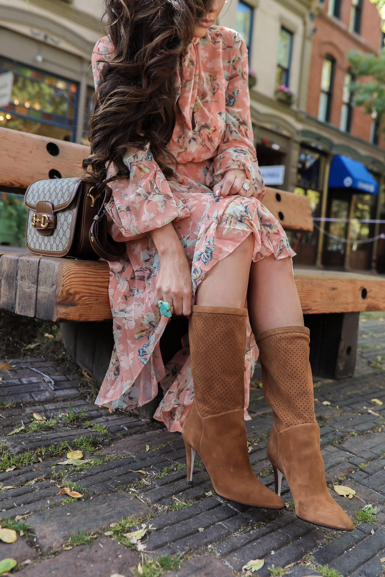 Tamara Mellon boots styled for Fall by top US fashion blog, The Sweetest Thing