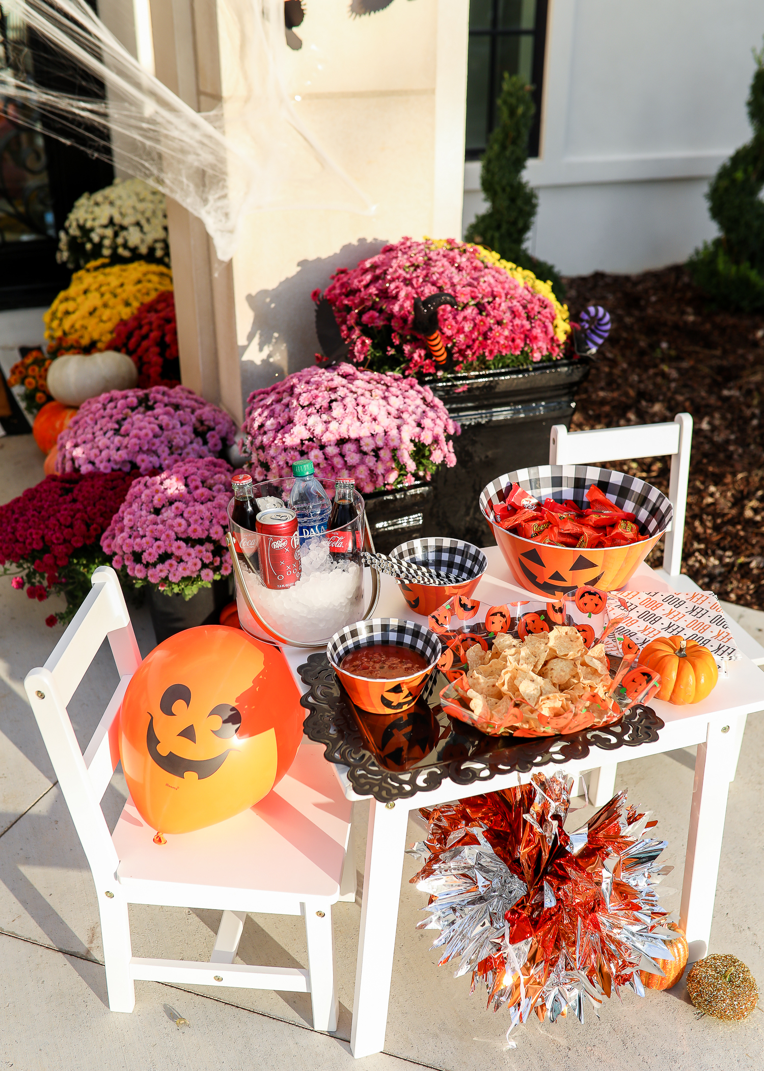 Easy Halloween Party At Home featured by top US life and style blog, The Sweetest Thing: Walmart Halloween Decor