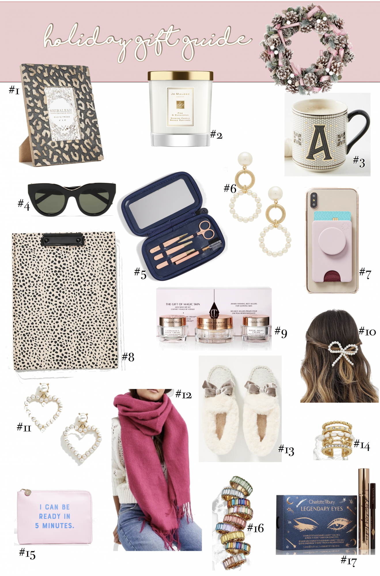 Top 17 Unique Gifts for Her, a Holiday gift guide featured by top US life and style blog, The Sweetest Thing. Christmas gift ideas 2019, Christmas gift guide, best holiday Christmas gifts women, gift ideas Christmas bloggers, Emily ann gemma
