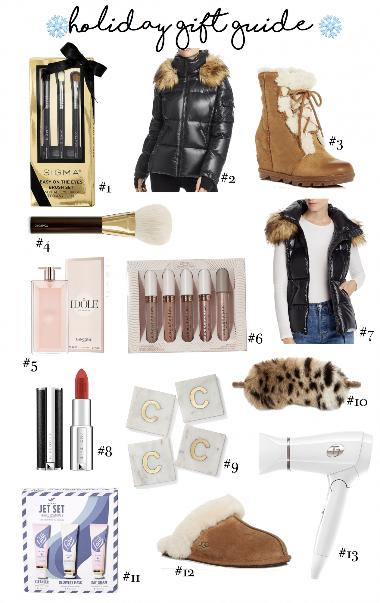 Holiday Gift Guide: 13 Best Gifts for Her featured by top US life and style blogger, Emily Gemma of The Sweetest Thing