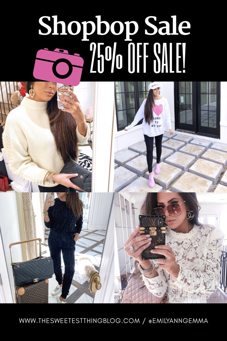TOP BEST BLACK FRIDAY SALES 2019 | Major ShopBop Sale Alert‼️[25% Off My Most Popular Outfits!] by popular Oklahoma fashion blog, The Sweetest Thing: collage image of a woman wearing various ShopBop clothing items.