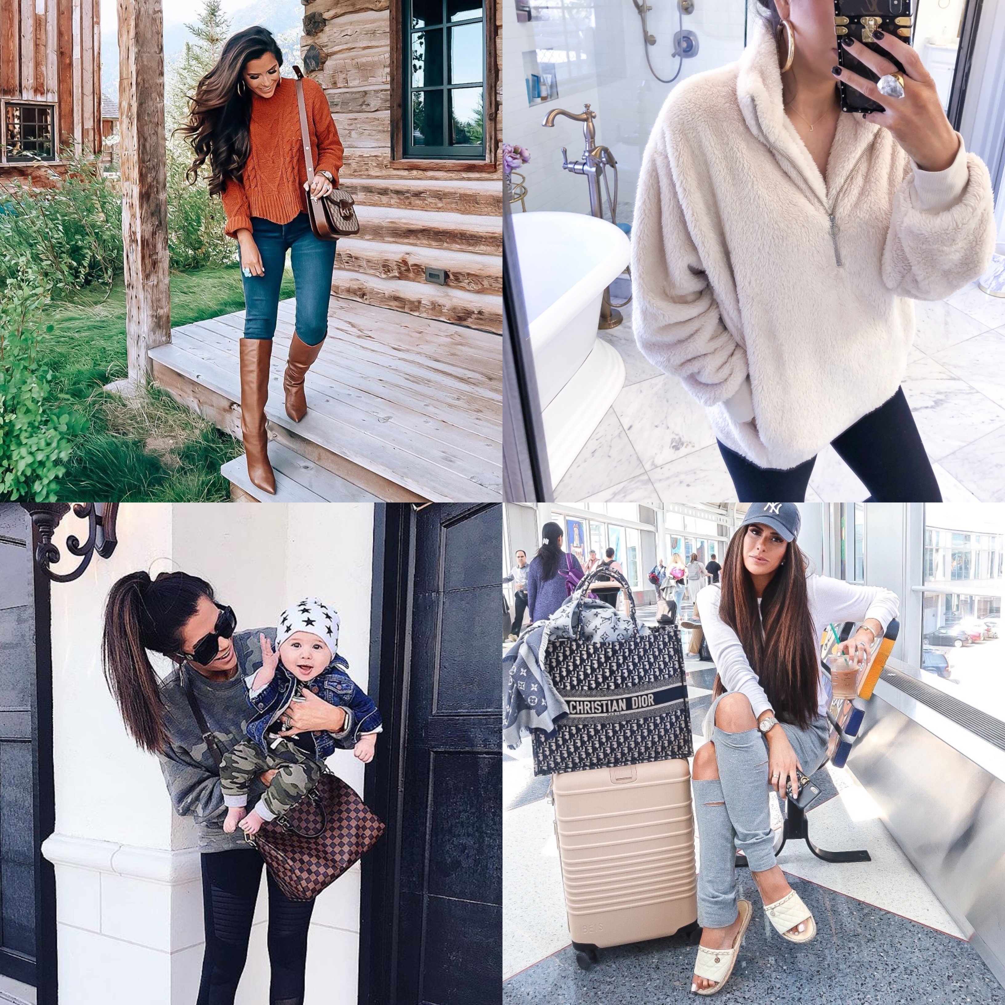 best black friday sales 2019, emily gemma, express black friday sales | Mega Black Friday Sales and Deals Guide!! by popular Oklahoma life and style blog, The Sweetest Thing: collage image of a woman wearing various Black Friday sale items.