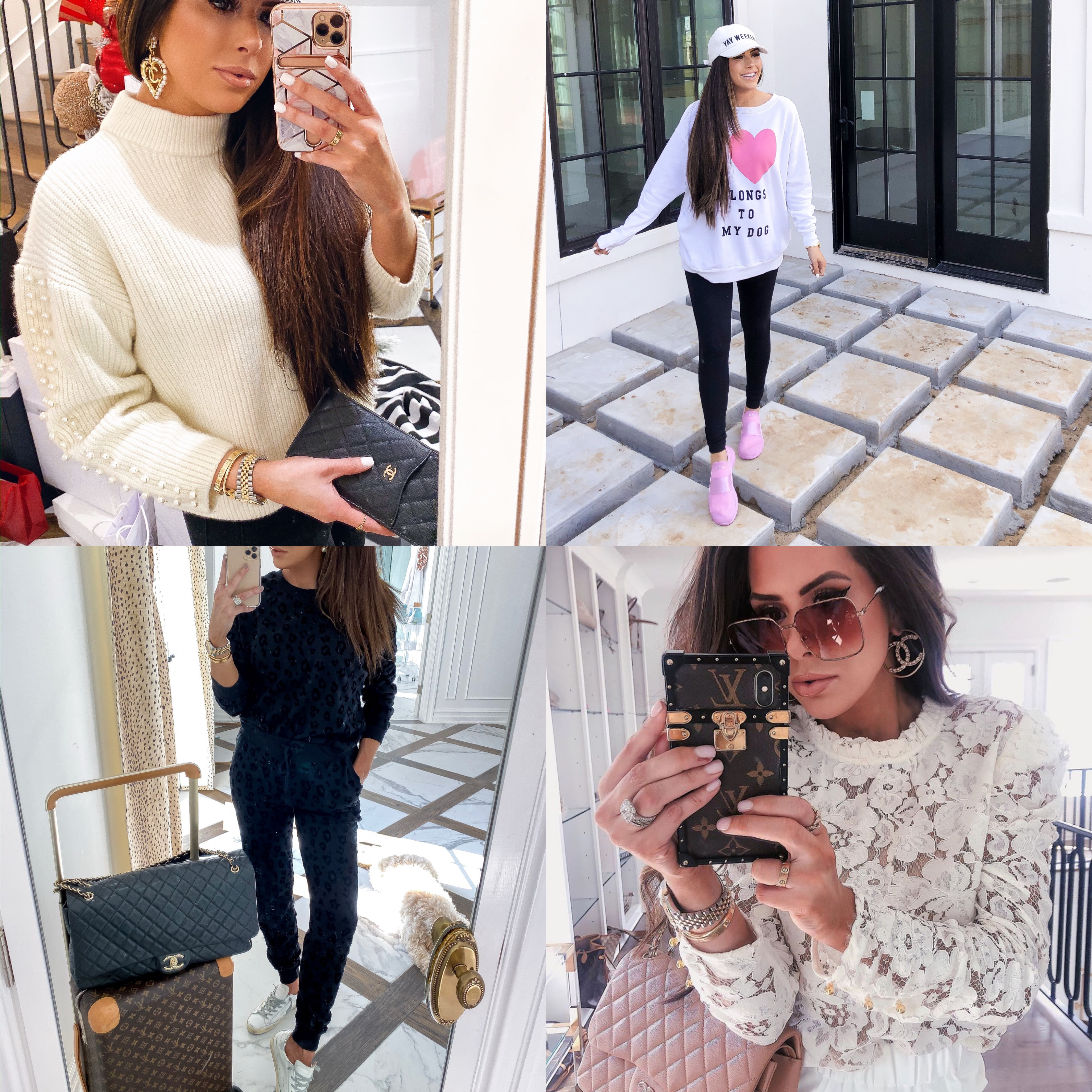 best black friday sales 2019, shopbop black friday sales, emily gemma | Mega Black Friday Sales and Deals Guide!! by popular Oklahoma life and style blog, The Sweetest Thing: collage image of a woman wearing various Black Friday sale items.