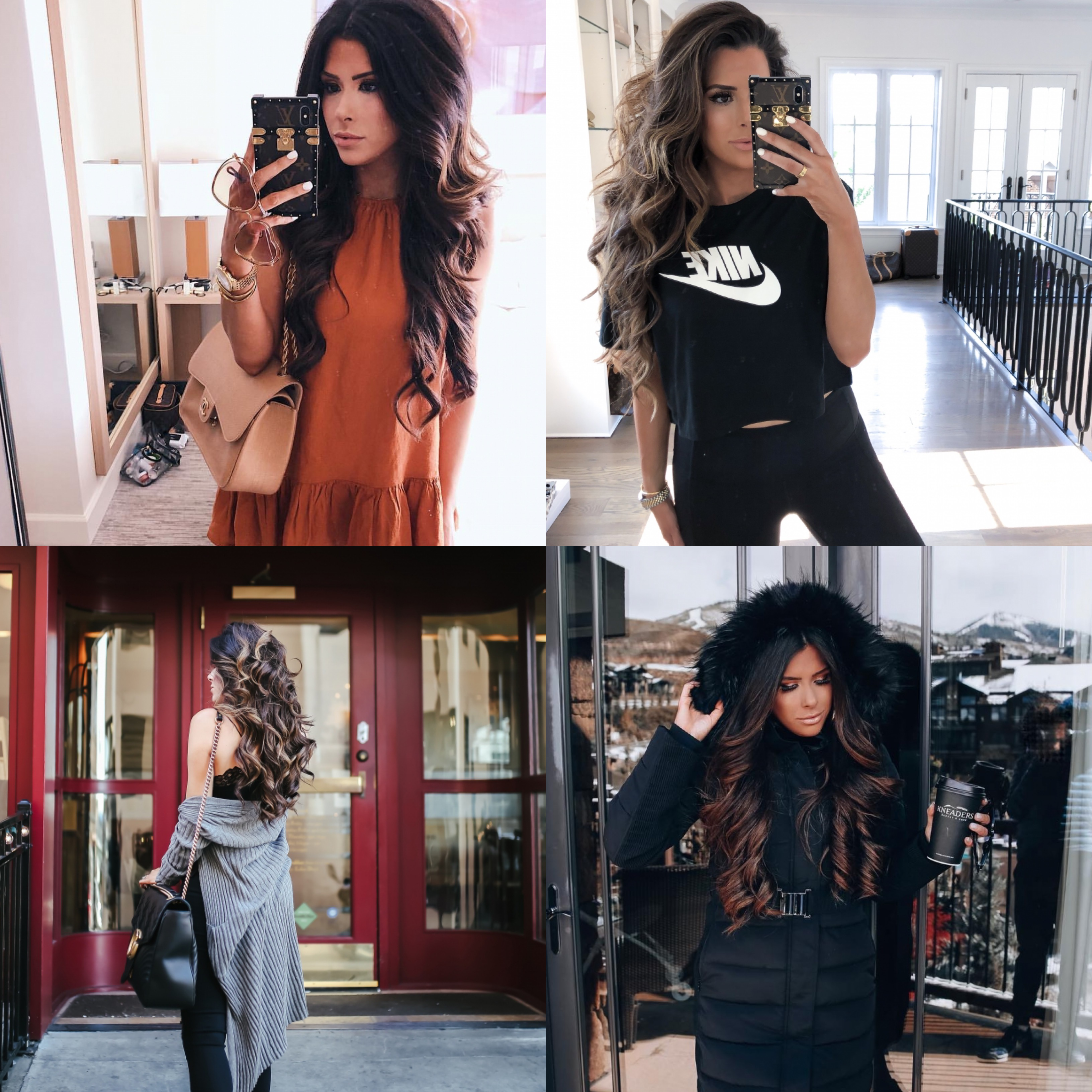 best black friday sales, t3micro black friday sales, emily gemma | Mega Black Friday Sales and Deals Guide!! by popular Oklahoma life and style blog, The Sweetest Thing: collage image of a woman wearing various Black Friday sale items.