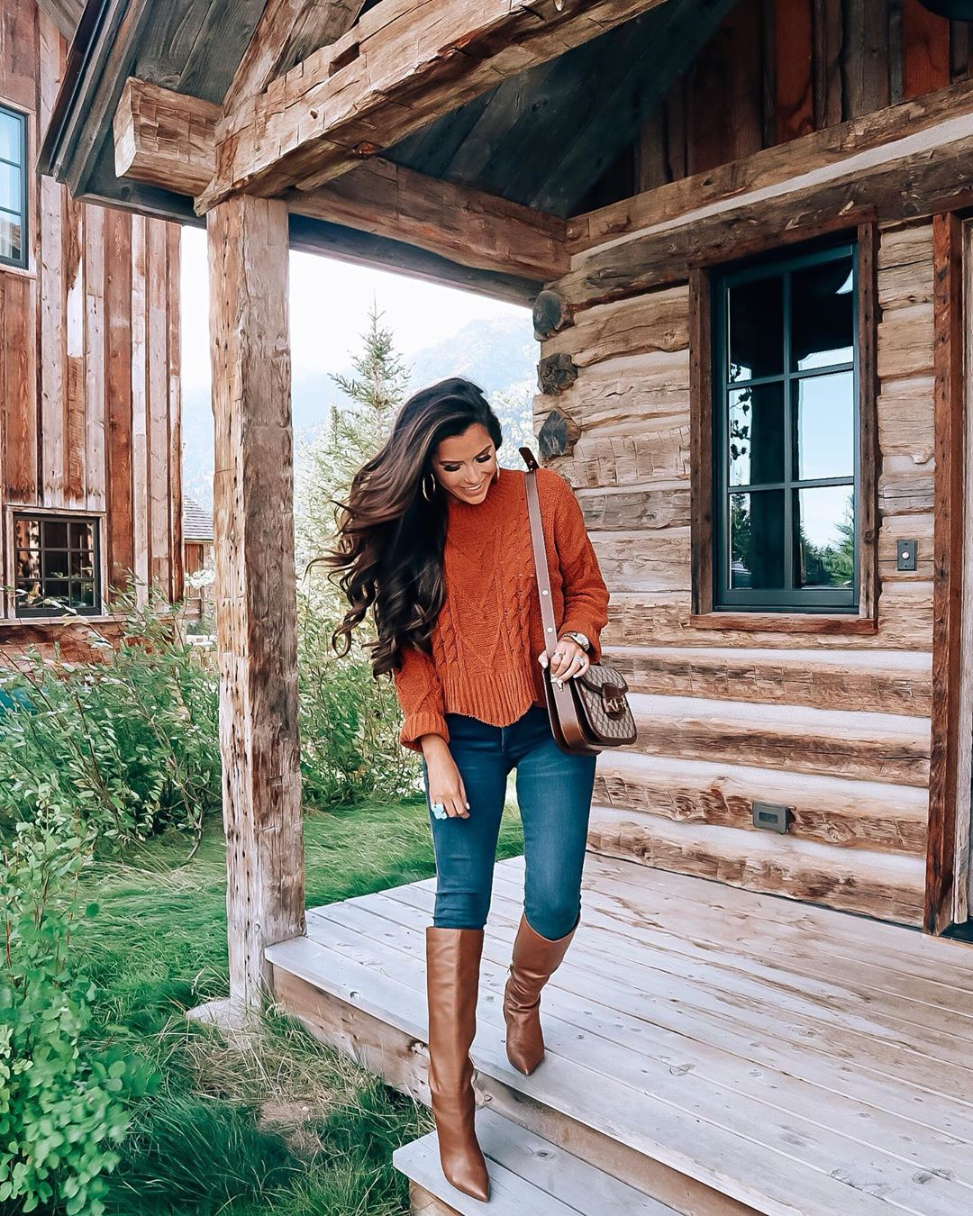Most Popular Outfits On Sale That I've Worn - All 50% Off! by popular Oklahoma fashion blog, The Sweetest Thing: image of a woman wearing Mid Rise Denim Perfect Lift Dark Wash Leggings.