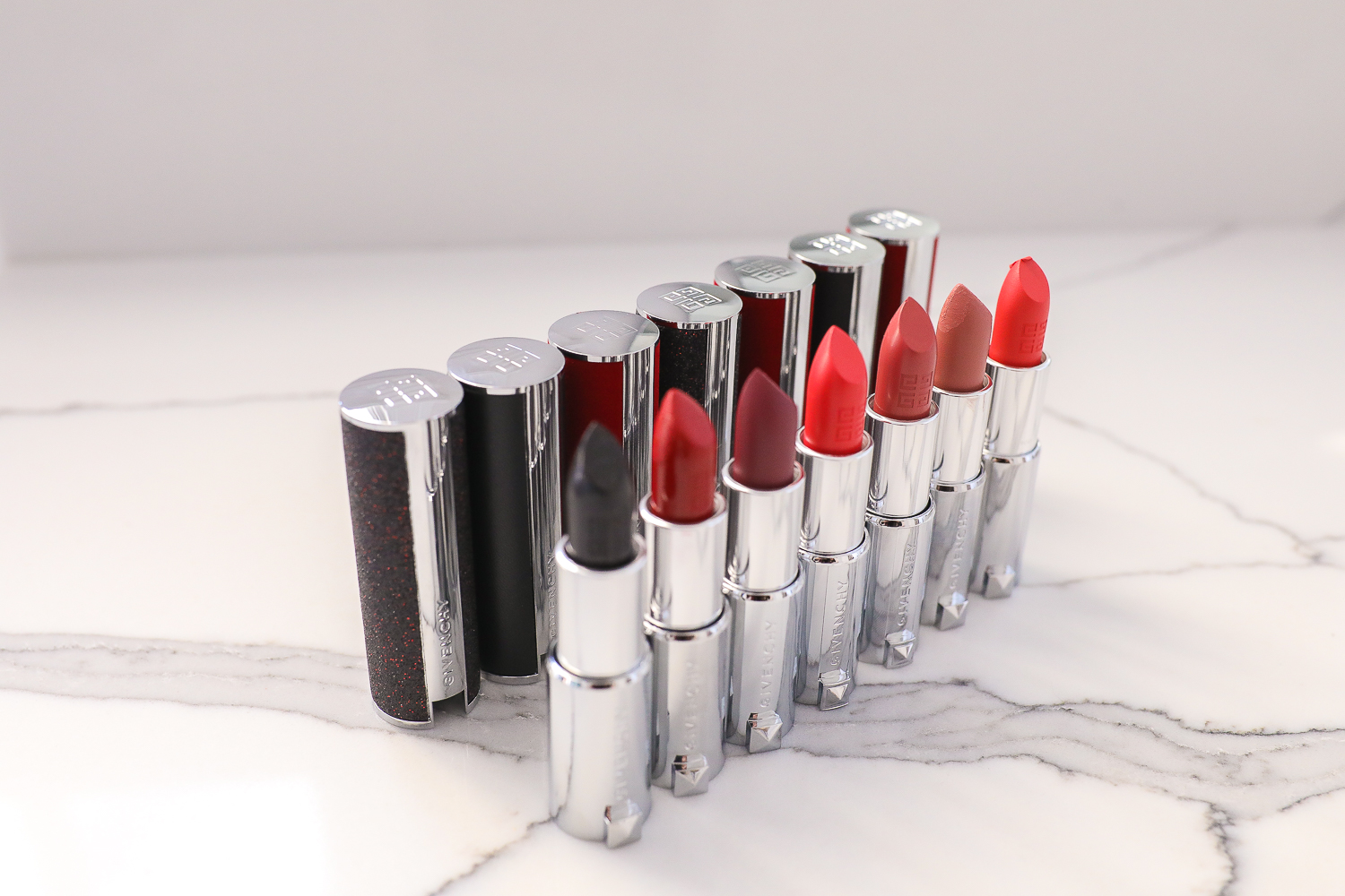 The Best Holiday Lipstick featured by top US beauty blog, The Sweetest Thing: Givenchy Le Rouge Lipstick