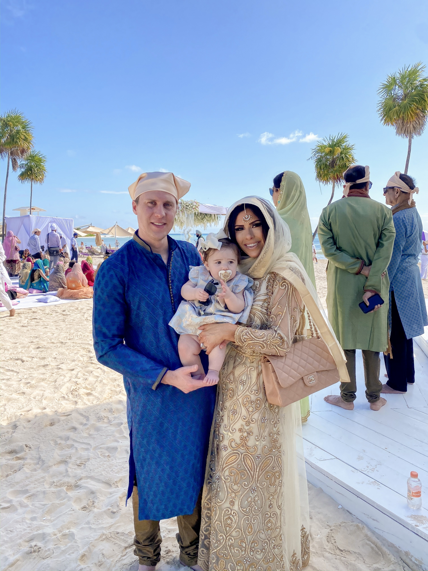 A YEAR IN REVIEW : MASSIVE 2019 INSTAGRAM RECAP by popular Oklahoma life and style blog, The Sweetest Thing: image of a family at an Indian wedding.