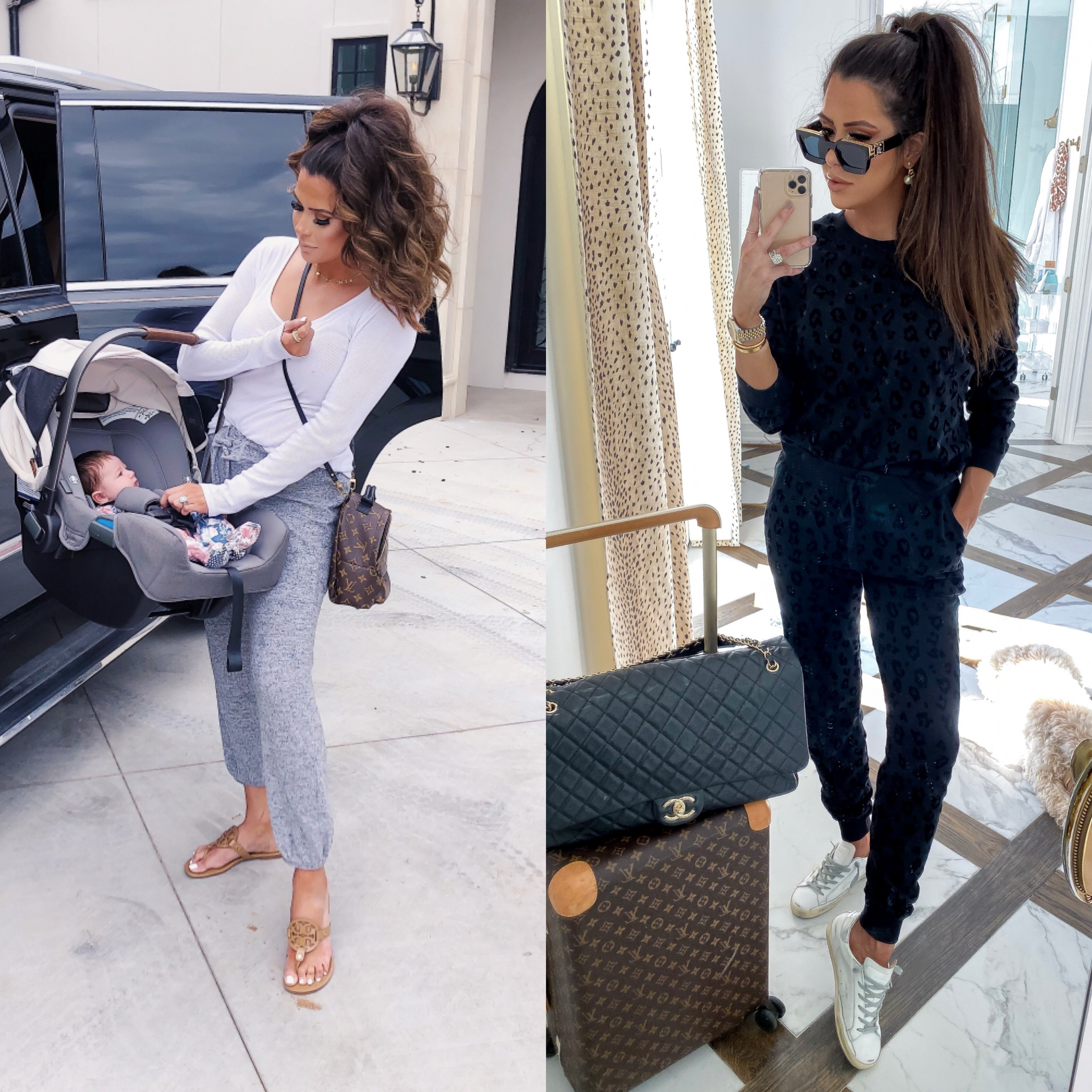 best of loungewear 2019 | best athletic leggings lululemon, zella, spanx review | Best Wardrobe Essentials 2019👖 | Part 2 by popular US fashion blog, The Sweetest Thing: collage image of a woman wearing ShopBop ZSupply loungewear, Buddy Love loungewear, and Nordstrom BP loungewear.