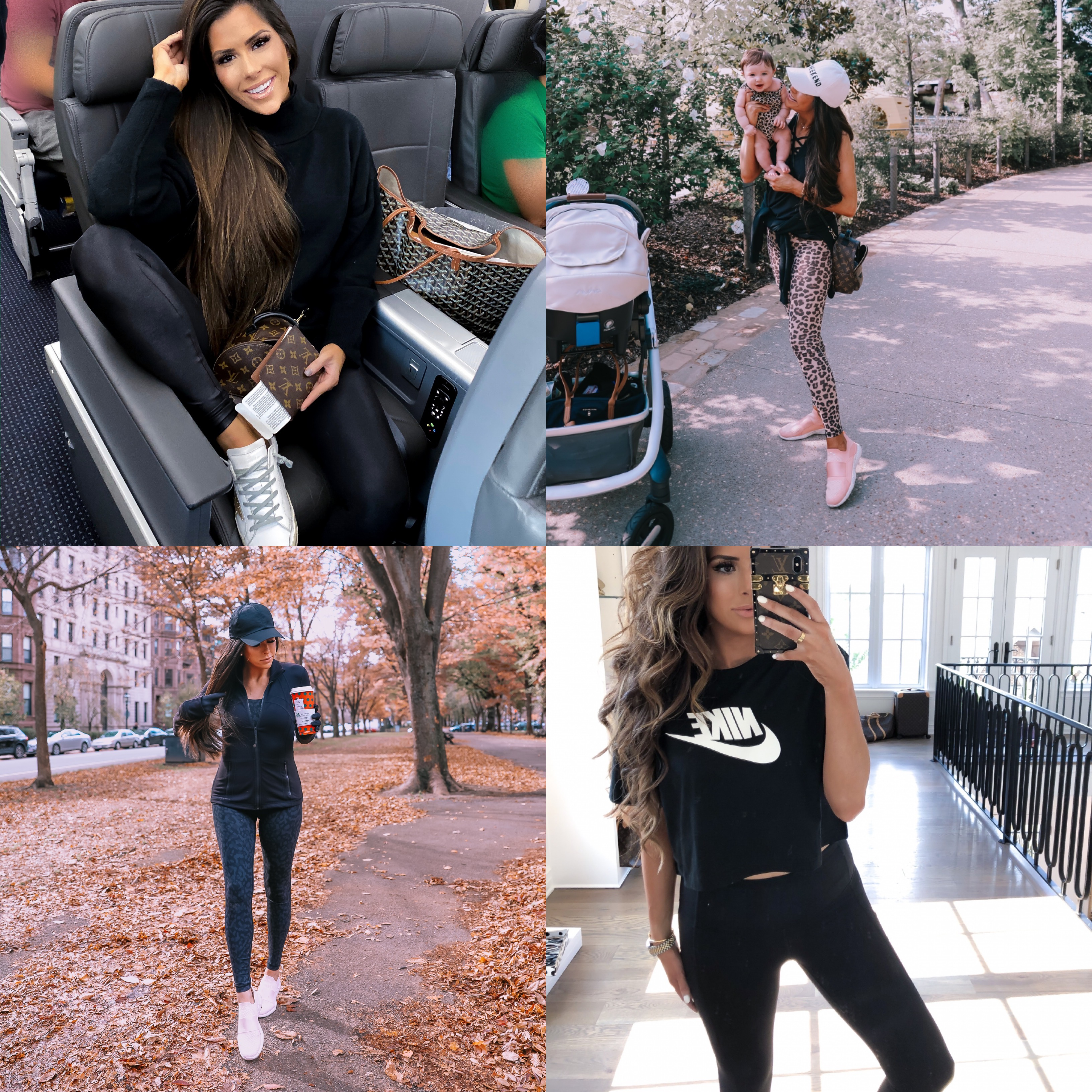 "best athletic leggings lululemon, zella, spanx review | Best Wardrobe Essentials 2019👖 | Part 2 by popular US fashion blog, The Sweetest Thing: collage image of a woman wearing Nordstrom Live In High Waist Leggings ZELLA, Nordstrom Live In High Waist Pocket 7/8 Leggings ZELLA,ZELLA Mamasana Live In Maternity Ankle Leggings, Main, color, BLACK SIZE INFO XXS=00, XS=0-2, S=4-6, M=8-10, L=12-14, XL=16-18 (14W), XXL=20 (16W). Over the belly. DETAILS & CARE A stretchy, supportive panel expands with your growing bump in these lean, ankle-skimming leggings. Ideal for working out or wearing out and about, they're cut from a moisture-wicking Zeltek fabric and sewn with flatlock seaming for incredible comfort.  27"" inseam; 8 1/2"" leg opening; 15"" front rise; 15 1/2"" back rise (size Medium) Moisture-wicking Zeltek fabric dries quickly to keep you cool and comfortable Smooth flatlock seaming won't rub or irritate 88% polyester, 12% spandex Machine wash, tumble dry Imported Women's Active & Swim Item #5623737 Helpful info: See details and tips from a salesperson (video) Activewear Glossary Free Shipping & Returns See more (262) Mamasana Live In Maternity Ankle Leggings ZELLA, Nordstrom Faux Leather Leggings SPANX®, and Lululemon Align Pant 28""."