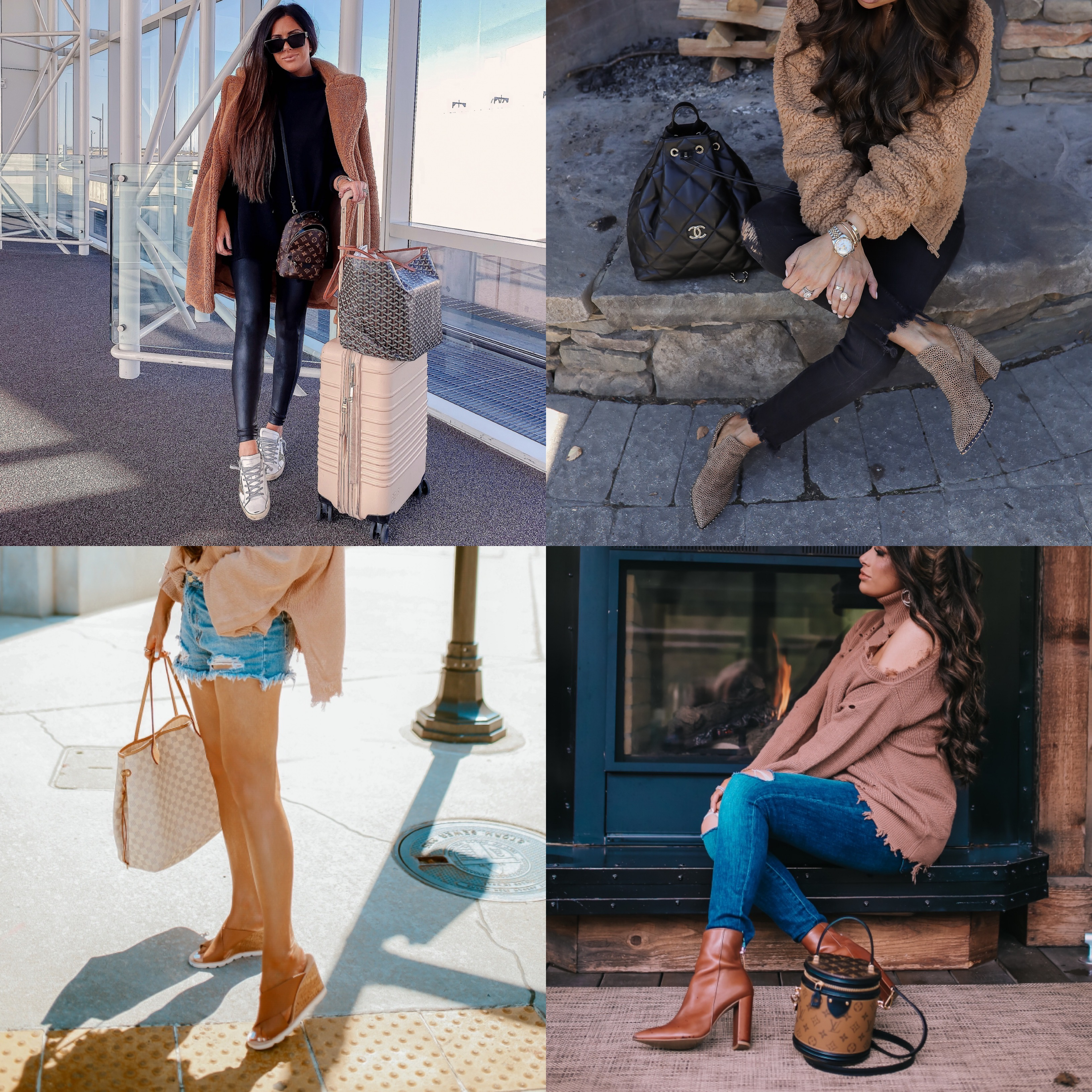 best of shoes 2019, golden goose, steven madden, emily gemma | best athletic leggings lululemon, zella, spanx review | Best Wardrobe Essentials 2019👖 | Part 2 by popular US fashion blog, The Sweetest Thing: collage image of a woman wearing Nordstrom Superstar Low Top Sneaker GOLDEN GOOSE, Dillard's Gianni Bini Daveigh Cheetah Print Suede Studded Western Block Heel Booties, Steve Madden FLORETTA COGNAC LEATHER, and Steve Madden TRISTA COGNAC LEATHER.