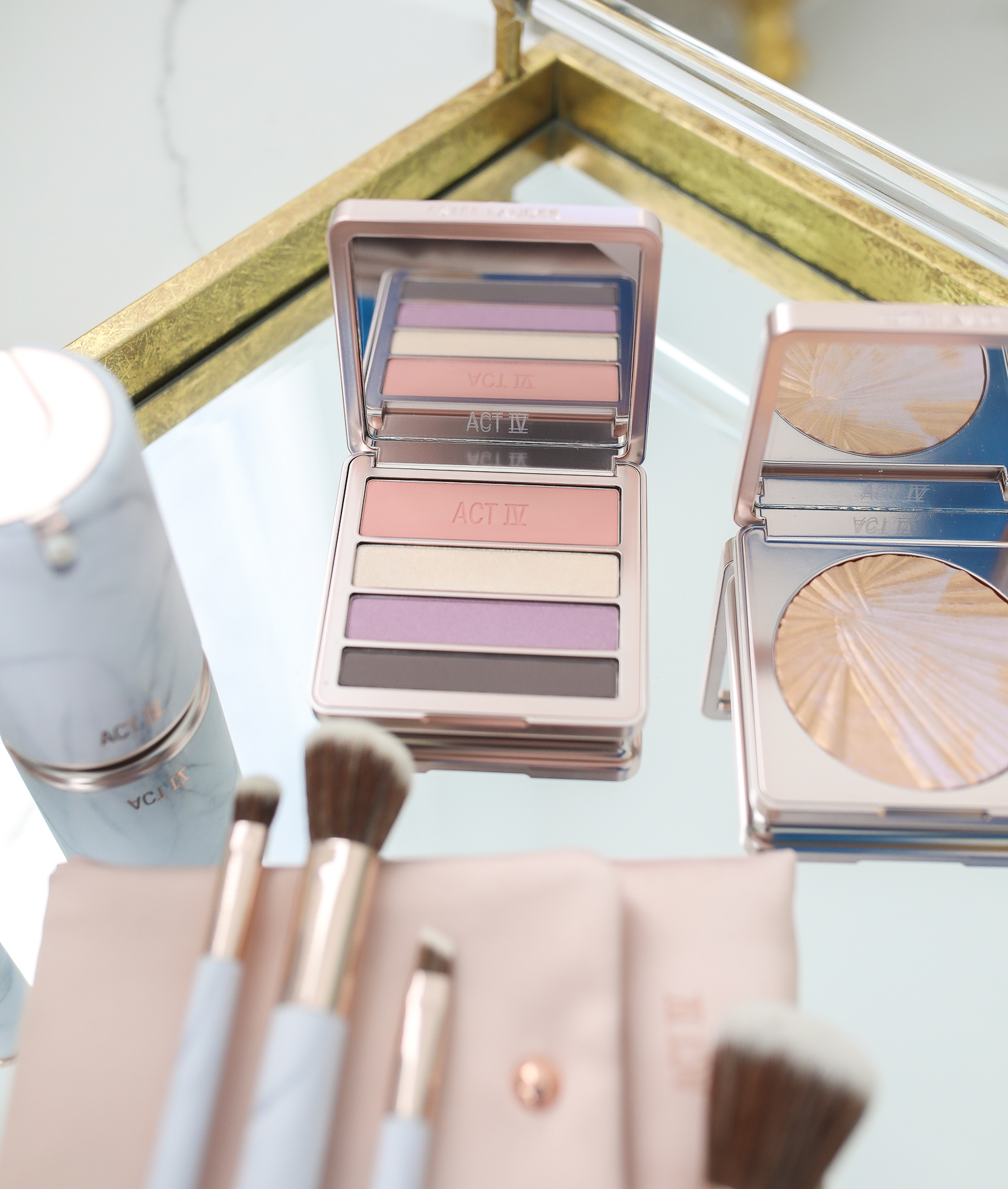 Estee Lauder Makeup by popular US beauty blog, The Sweetest Thing: image of Estee Lauder Act IV makeup.