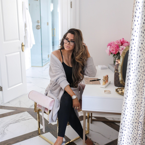 cute loungwear outfit ideas, express work from home outfits, emily gemma22