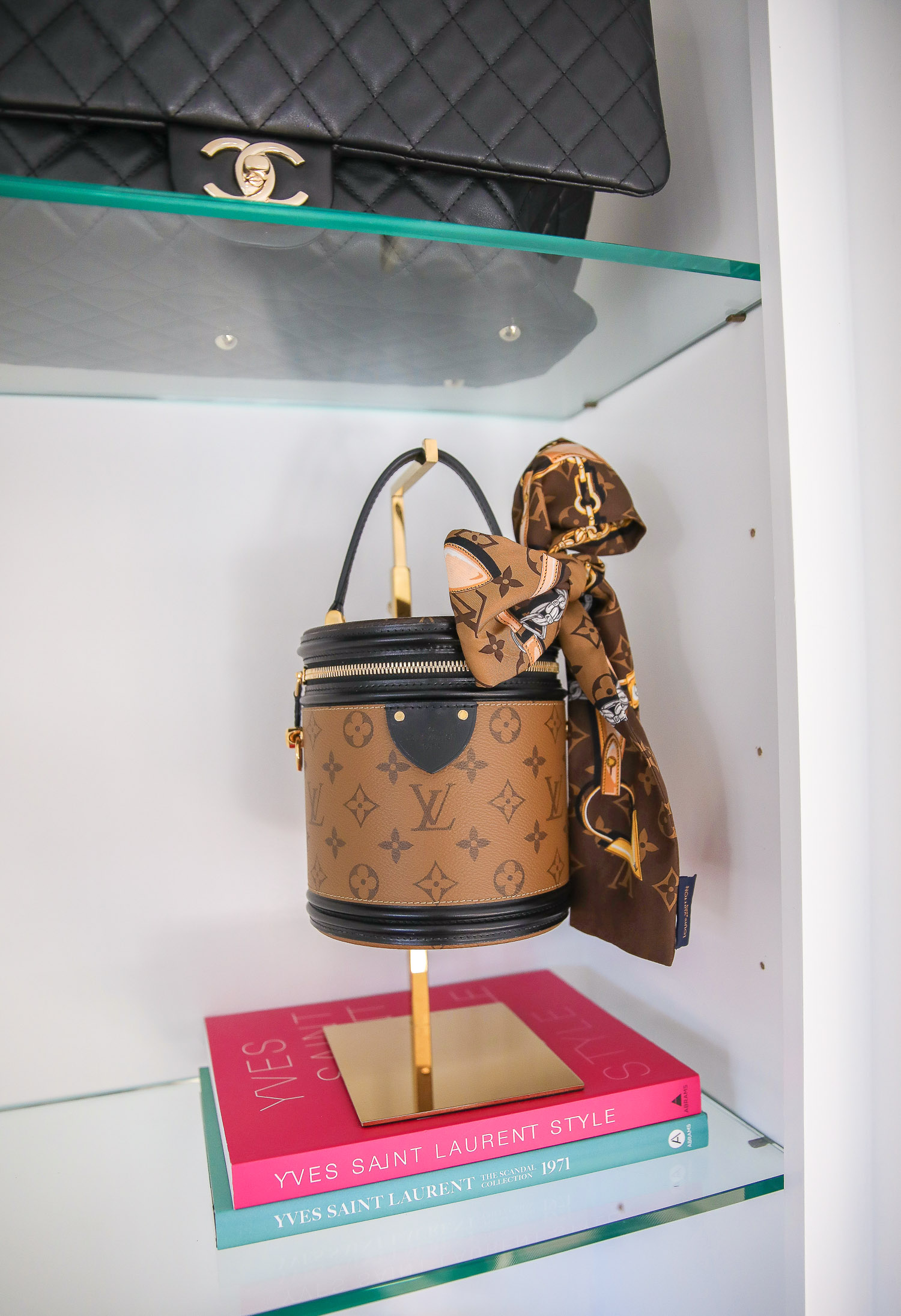 amazon must haves summer 2020, amazon home decor blog post, amazon luxury must haves, two story closet pinterest, emily gemma, closet organization | Amazon Favorites by popular US life and style blog, The Sweetest Thing: image of a Yves Saint Laurent: Style 1st Edition and a Amazon Yves Saint Laurent: The Scandal Collection, 1971.