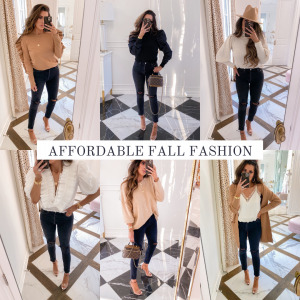 Instagram Fall Try-On Haul featured by top US fashion blogger, The Sweetest Thing