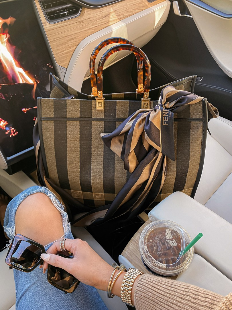 Instagram Recap by popular US lifestyle blog, The Sweetest Thing: image of a Fendi bag.