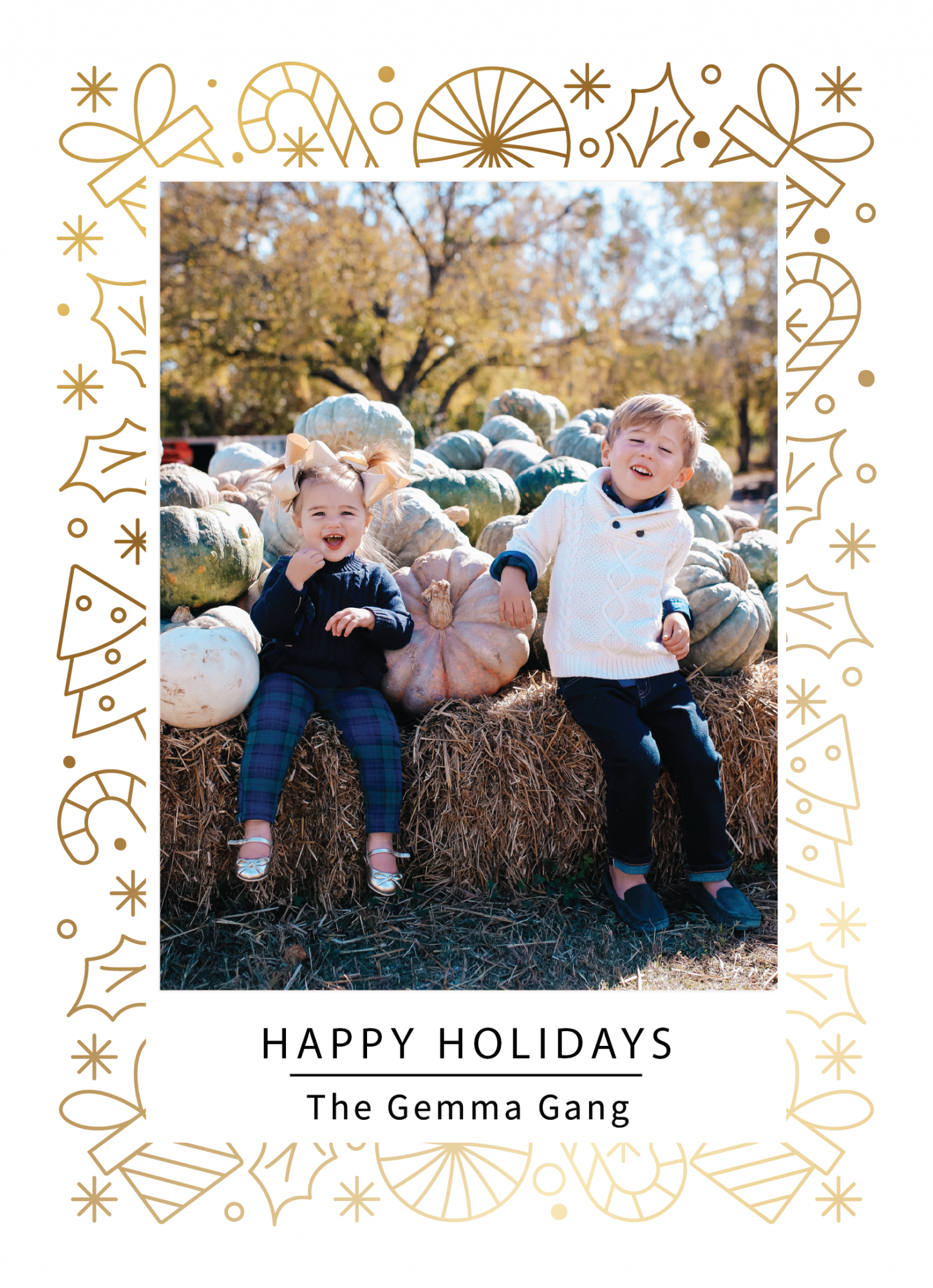 janie and jack kids clothing fall 2020, kids fall fashion 2020, the sweetest thing blog17 | Janie and Jack Kids Clothing by popular US fashion blog, The Sweetest Thing: image of two kids sitting next to a pile of pumpkins and wearing a Janie and Jack PLAID POPLIN SHIRT, Janie and Jack SHAWL COLLAR PULLOVER, Janie and Jack SLIM SELVEDGE JEAN IN MOONLIGHT INDIGO WASH, Janie and Jack LEATHER TRIM BELT, Janie and Jack ARGYLE SOCK, Janie and Jack SUEDE DRIVING SHOE, Janie and Jack PEPLUM BOW SWEATER, Janie and Jack PLAID PONTE BUTTON CUFF PANT, and Janie and Jack METALLIC BOW FLAT.