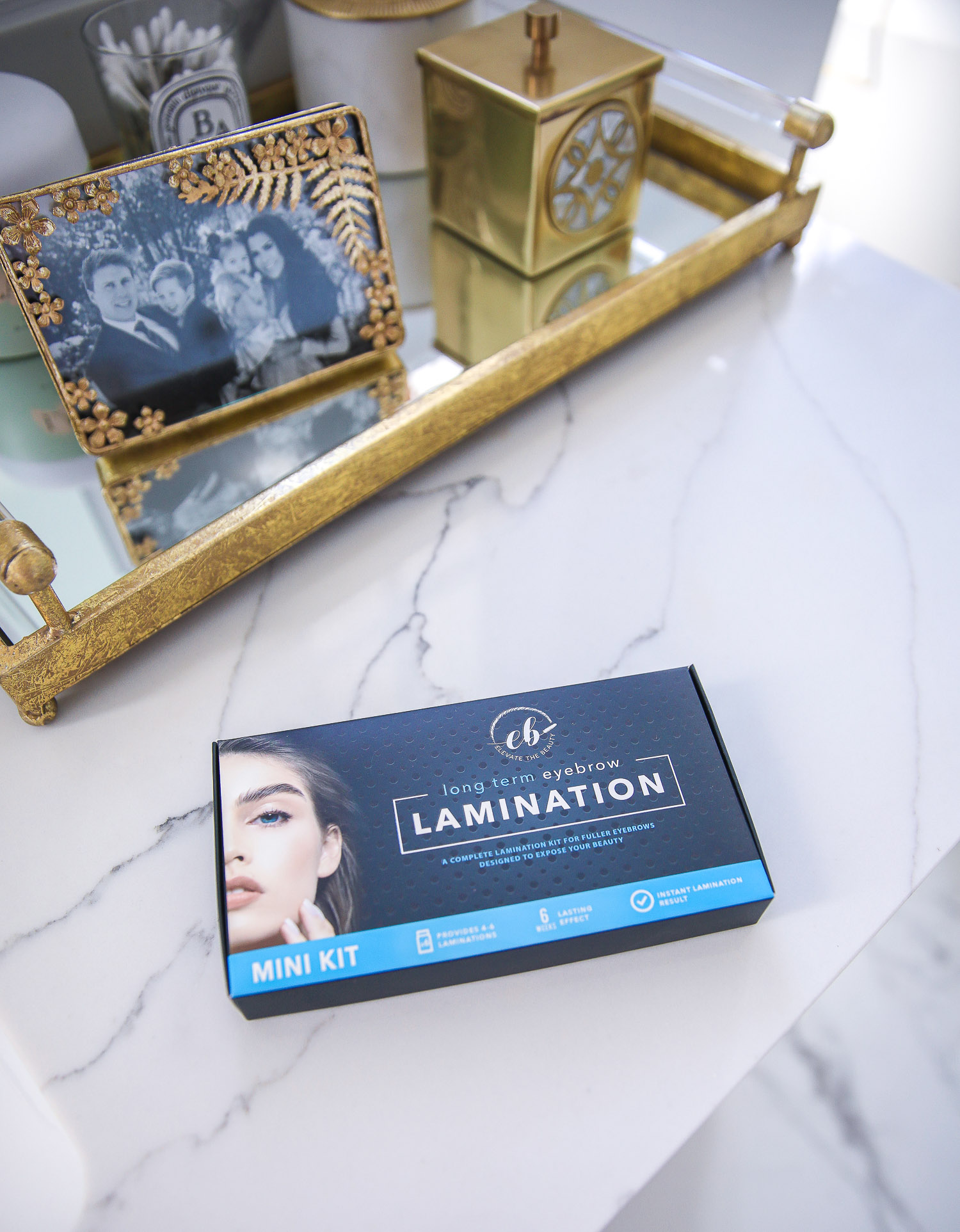 Amazon at home brow lamination kit review, Emily Gemma |Amazon Must Haves by popular US life and style blog, The Sweetest Thing: image of long term eyebrow lamination.