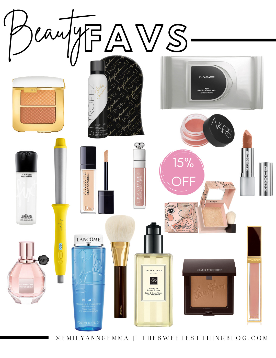 Emily ann gemma beauty and makeup favorites on sale at Nordstrom