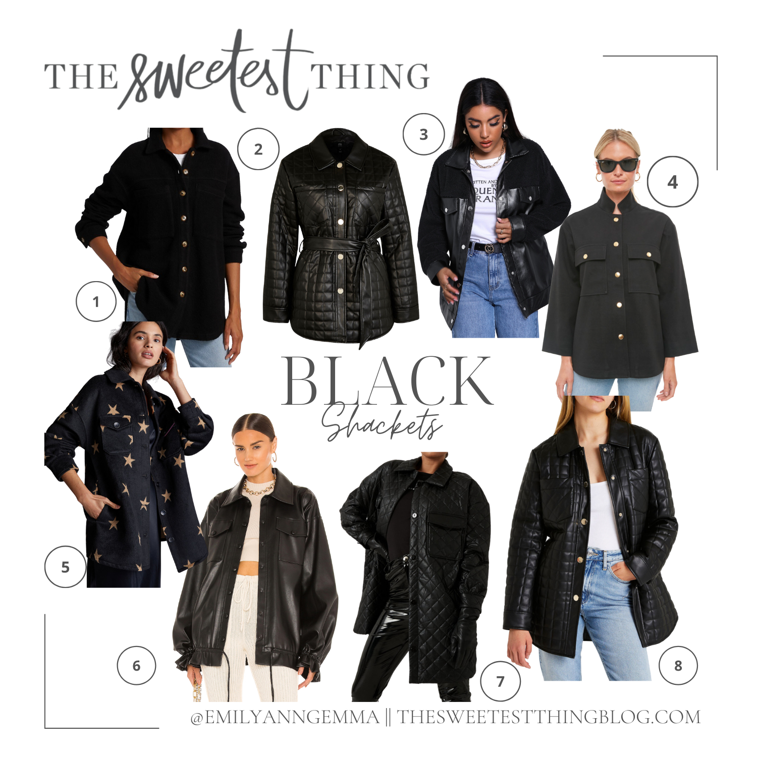 Balmain Inspired Quilted Shacket styled by top US fashion blogger, The Sweetest Thing