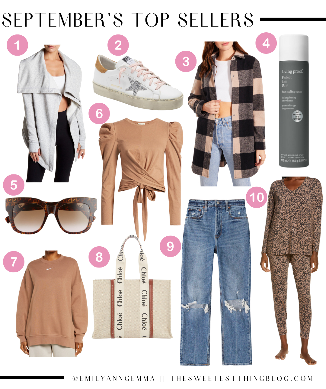 Septembers Top Sellers, Must Haves September 2021, Emily Ann Gemma Home, Fall Outfits, Fall Accessories